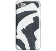 Modern Abstract Shapes iPhone Case/Skin