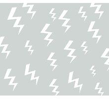 Bolt Grey Photographic Print