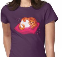 Halloween Kitty Womens Fitted T-Shirt