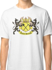 Rockhound Coat of Arms Classic T-Shirt