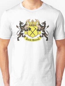 Rockhound Coat of Arms Unisex T-Shirt
