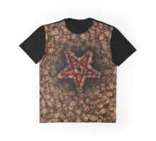 Doom faces pentagram Graphic T-Shirt