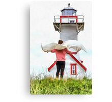 I'll Fly Away Canvas Print