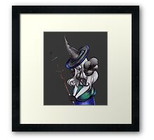 Mad Witch Framed Print