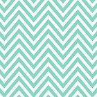 Zigzag (Chevron), Stripes, Lines - White Blue by sitnica
