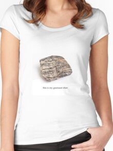 the gneissest shirt Women's Fitted Scoop T-Shirt