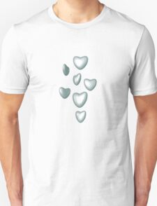 Unbreakable hearts glass Unisex T-Shirt