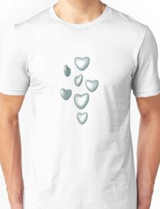 Unbreakable hearts glass Unisex T-Shirt