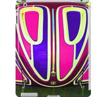 Very cool psychodelic VW Beetle hood iPad Case/Skin