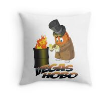 LAS VEGAS HOBO CASINO PENNY COIN Throw Pillow