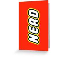 NERD Greeting Card