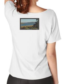 *THE'TAMAR RIVER+LAUNCESTON* Women's Relaxed Fit T-Shirt