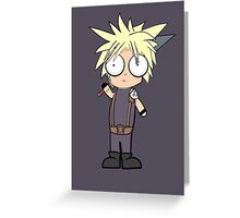 Cloud Strife? Greeting Card