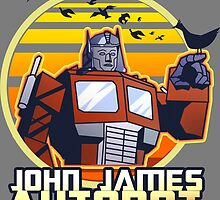 John James Autobot by deathpoodle