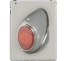 Very cool cover with VW Beetle 1952 rear light iPad Case/Skin