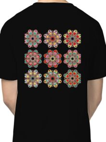 Holiday Cheer Foot Flowers Classic T-Shirt