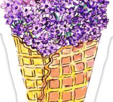 Natural Ice Cream Sticker