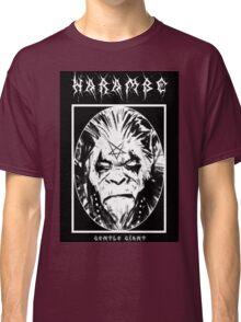 Black Metal Harambe Classic T-Shirt
