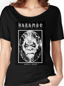 Black Metal Harambe Women's Relaxed Fit T-Shirt