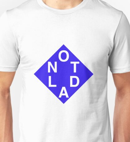 NOTLAD 2X3 DIAMOND BLUE Unisex T-Shirt