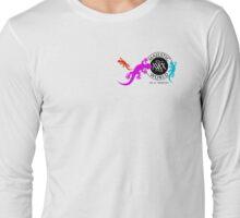 Gekkos in 3 Farben- Glücksymbol - Majestic World - Design von M. A. MARTIN  Long Sleeve T-Shirt