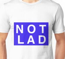NOTLAD 2X3 RECTANGLE BLUE Unisex T-Shirt