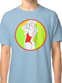 Vector Girl Classic T-Shirt