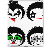 KISS Rock band chibi iPad Case/Skin