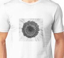 Sunflower B&W Unisex T-Shirt