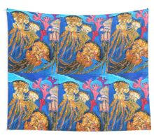 Jelly Fish Wall Tapestry