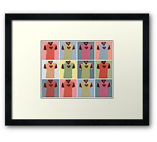 Half Man Half Biscuit - Dukla Prague Away Kit Framed Print