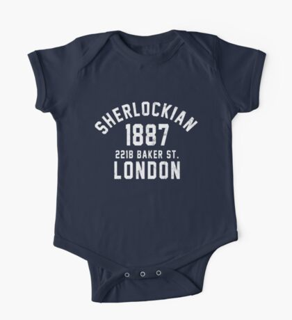 Sherlockian One Piece - Short Sleeve