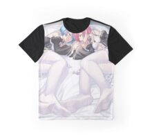 Rem & Ram Sleeping Graphic T-Shirt