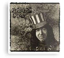 "Jerry Garcia ""Captain Trips"" Grateful Dead Shirt Metal Print"