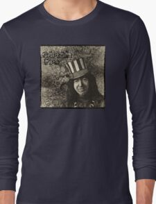 """Jerry Garcia """"Captain Trips"""" Grateful Dead Shirt Long Sleeve T-Shirt"""
