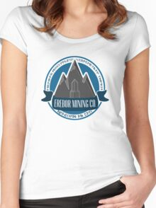 Erebor Mining Company Women's Fitted Scoop T-Shirt