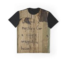 Writing on the Wall (in Canberra/ACT/Australia) Graphic T-Shirt