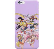 Sailor Scouts iPhone Case/Skin