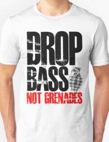 Drop Bass Not Grenades (black/red) T-Shirt