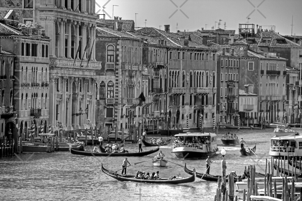 Messing about in boats - B&W by Tom Gomez