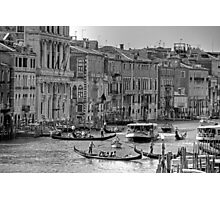 Messing about in boats - B&W Photographic Print