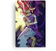 Daydream Shimmer and Midnight Sparkle Canvas Print