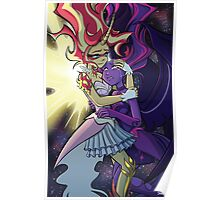 Daydream Shimmer and Midnight Sparkle Poster
