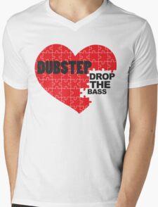 Drop the Bass Puzzle  Mens V-Neck T-Shirt