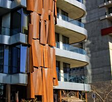 Rusty Waterfall in Canberra/ACT/Australia by Wolf Sverak