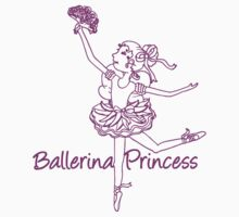 Ballerina Princess T by Sarah Trett