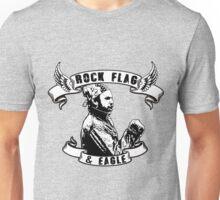 Rock flag and Eagle Unisex T-Shirt