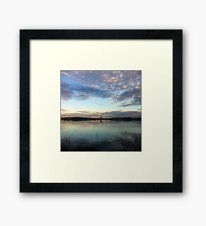 Dangars Lagoon Framed Print