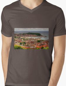 Scarborough Panorama Mens V-Neck T-Shirt