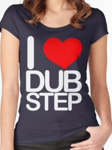 I love dubstep (light) Women's Fitted Scoop T-Shirt